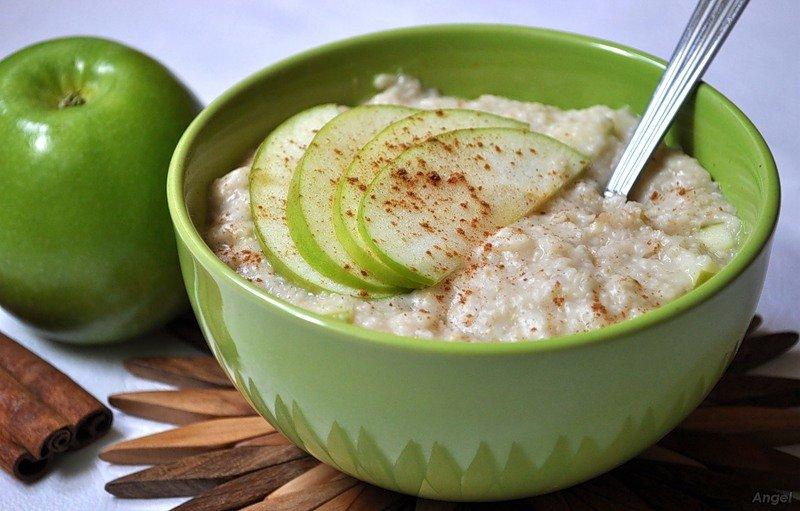 диета творог яблоки и овсянка