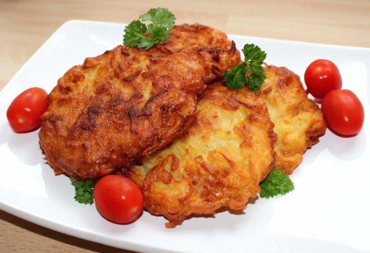 Драники с сыром - вкусные рецепты
