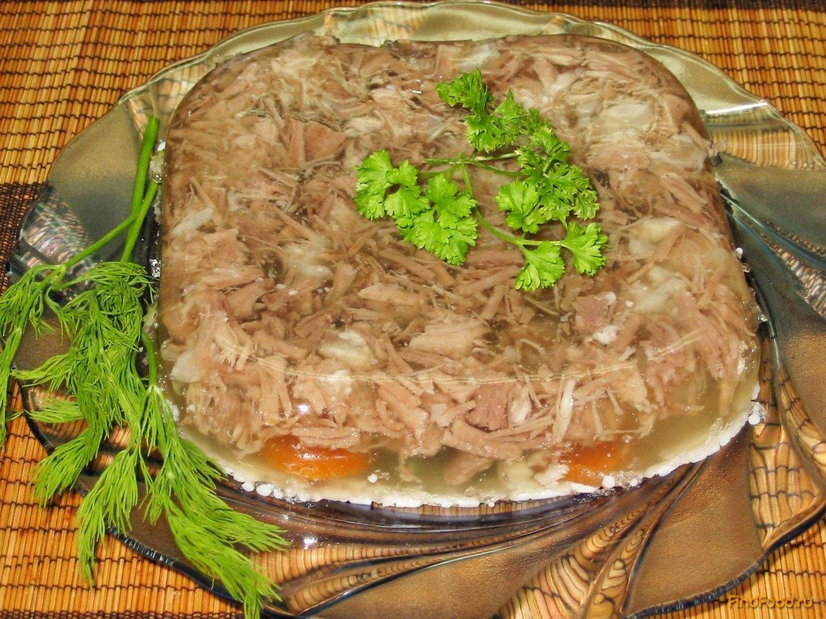Холодец рецепт с фото пошагово из свинины