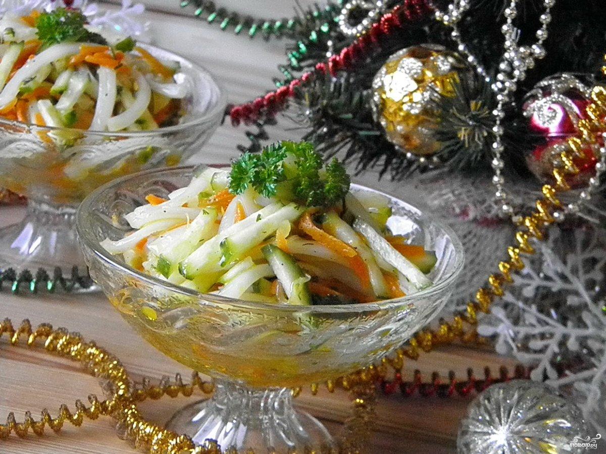 новогодние салаты с маслом рецепты и фото севернее подводного тоннеля