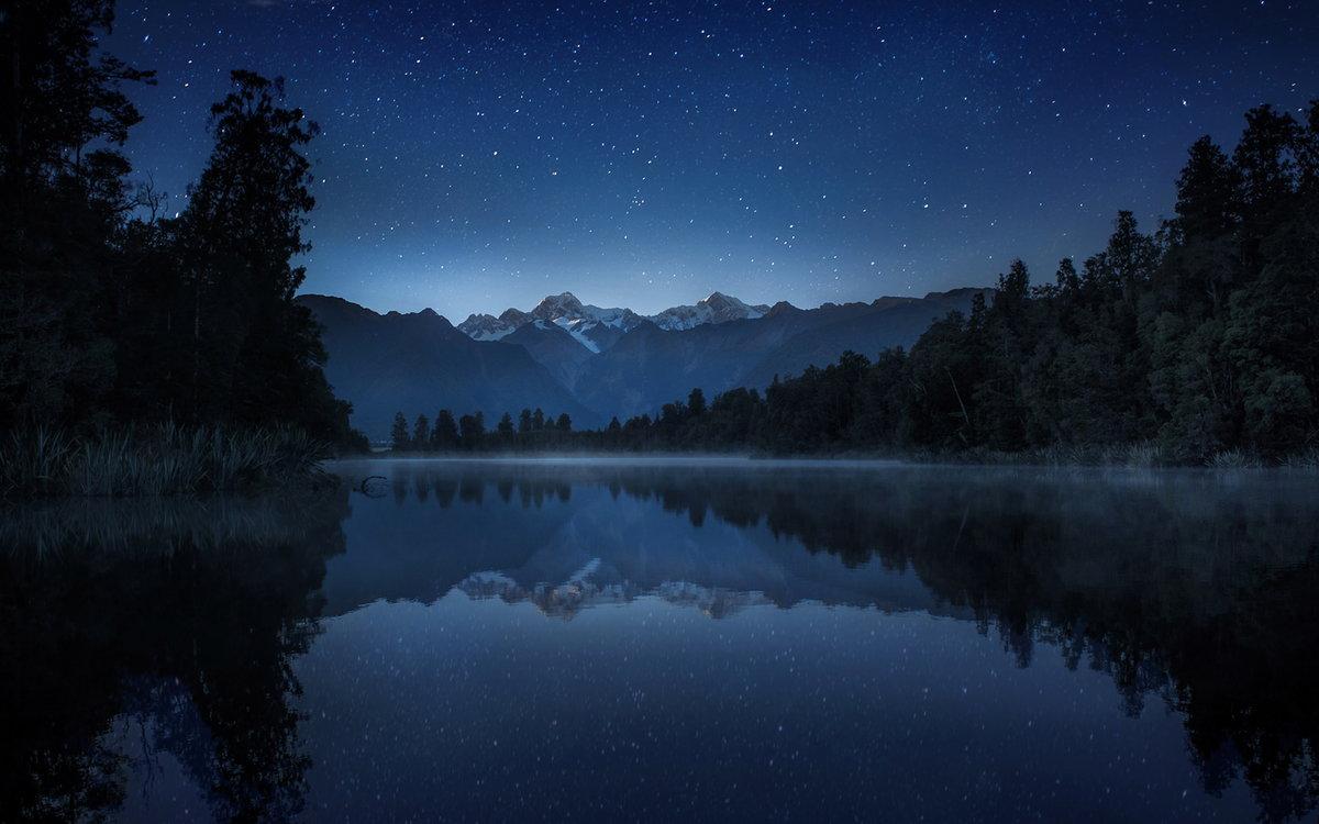 Картинки природа ночью красота, анимации