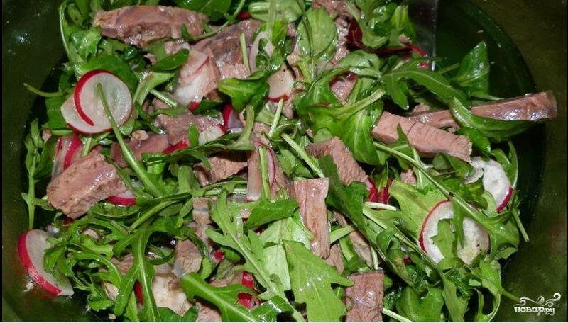 Салат из говядины с фотографиями