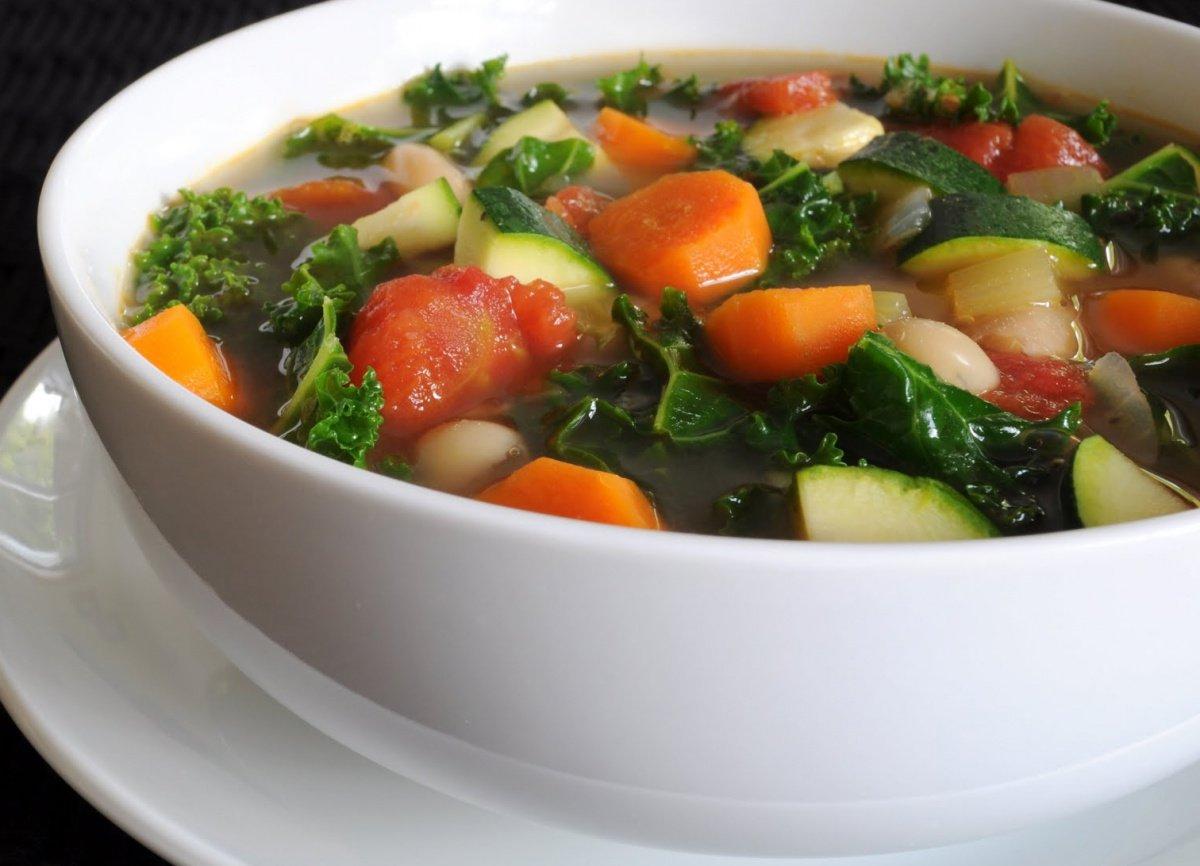 Овощная Суп Диета.