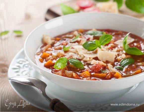 классический суп минестроне рецепт