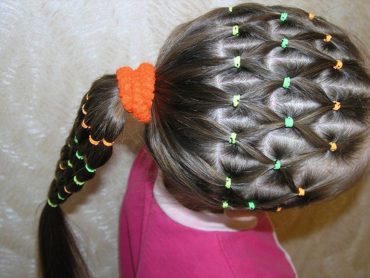 возможность картинки из волос из хвостиков для коротких волос ичинская