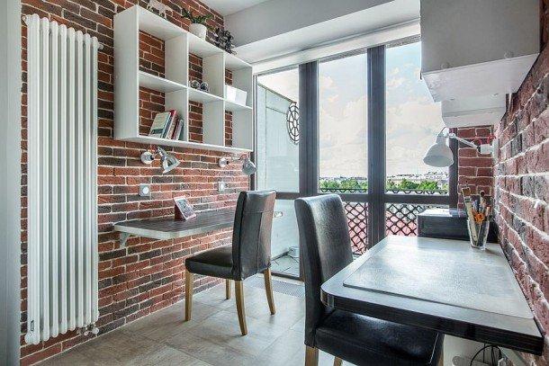 Используйте вертикальное пространство в маленьких кабинетах