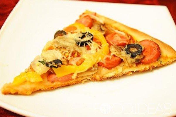 Тесто для пиццы без дрожжей, 4 пошаговых рецепта с фото на