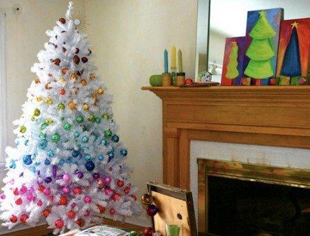 Радужная елка