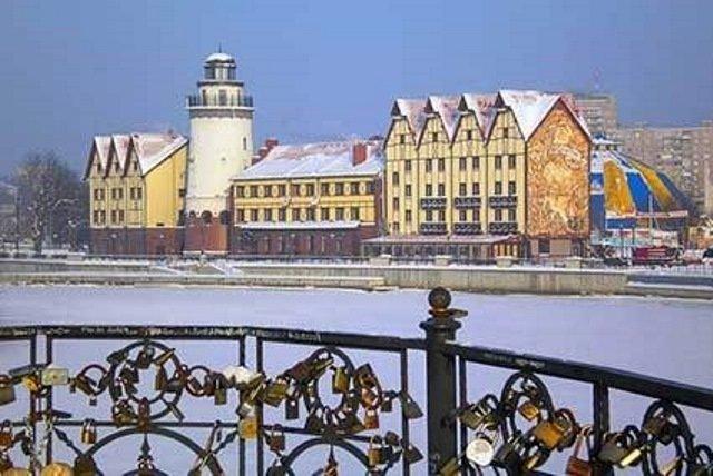 Новый год на самом западе России - Новогодний тур в Калининград
