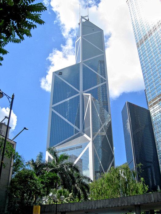 Здание Банка Китая в Гонконге