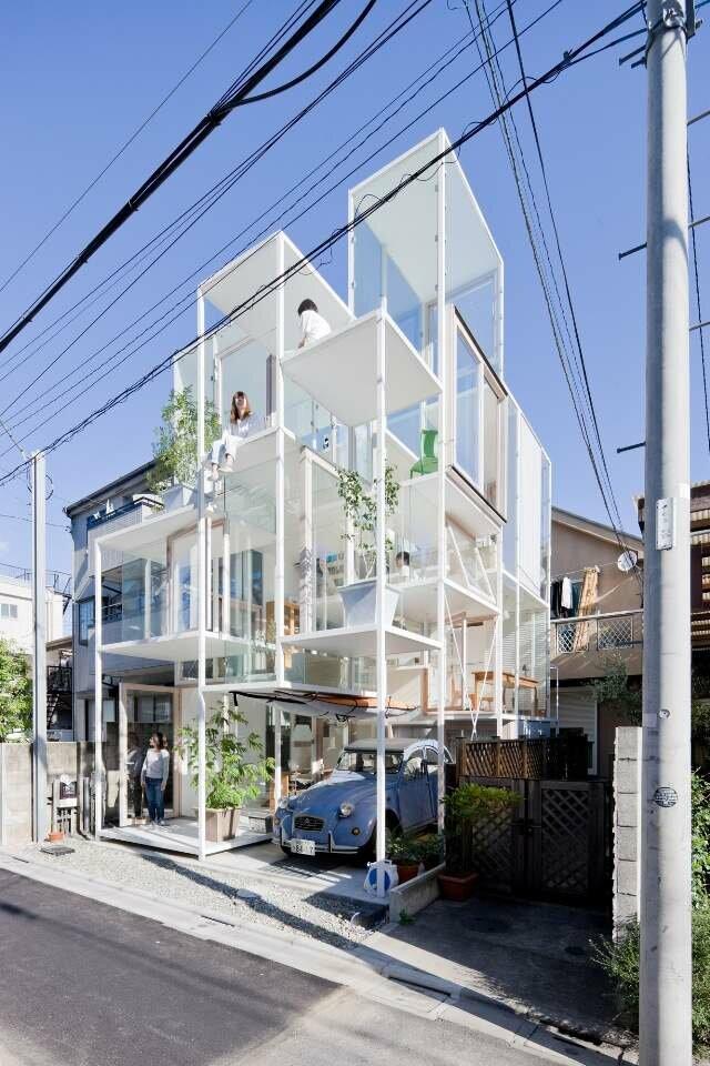 House NA - необычный дом от Sou Fujimoto Architects