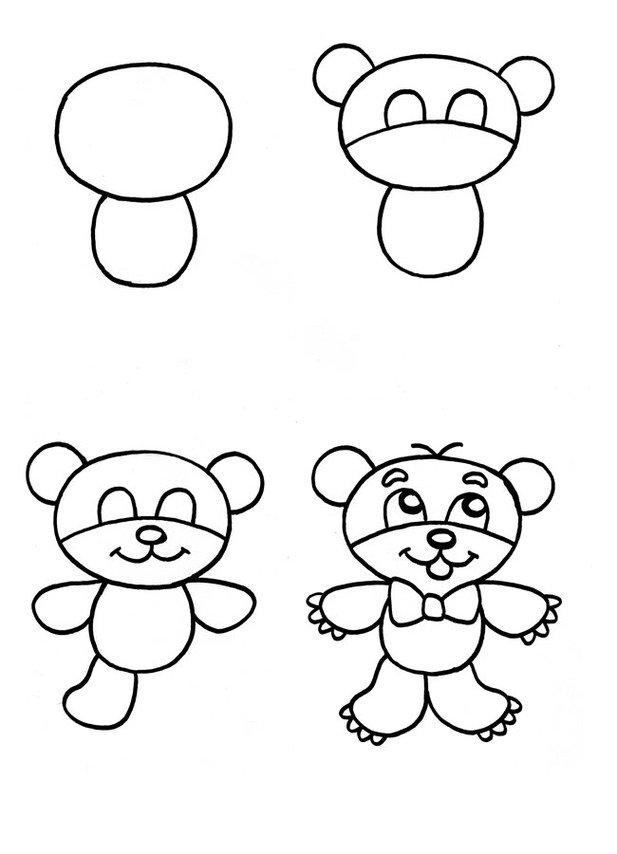 Как нарисовать детям картинку, коллаж фотографиями