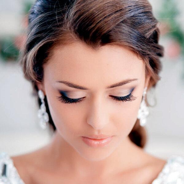 » Свадебный макияж для брюнеток | Модельное агентство