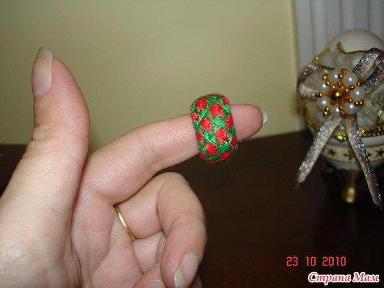 Красно-зеленый наперсток
