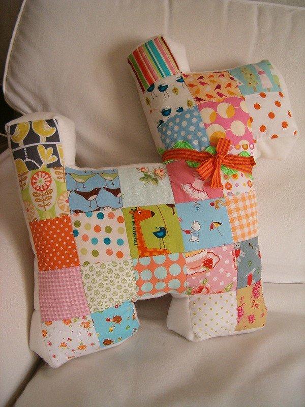 Декоративная подушки своими руками