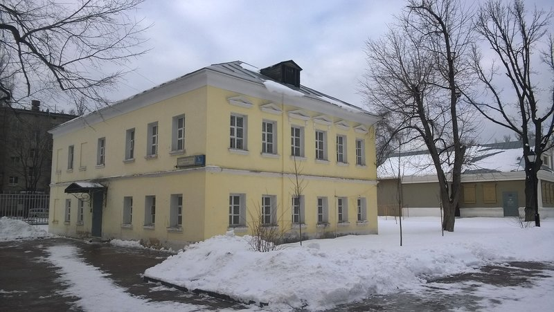 Аккуратное здание