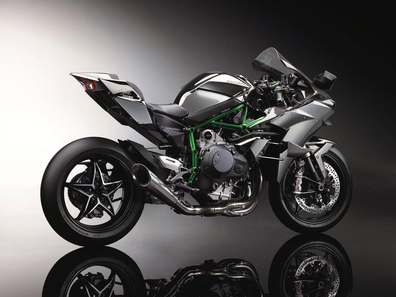 Kawasaki Ninja H2R 2 гибридный