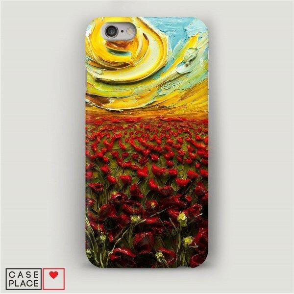 Чехол для iPhone 6 Красочное поле.