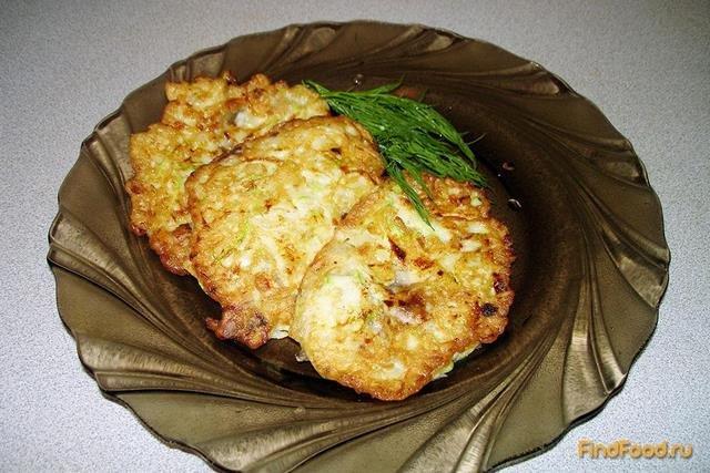 рецепт приготовления кабачковых оладьев с фото