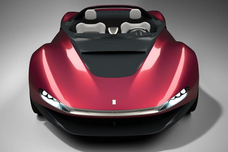 Ferrari выпустит ограниченной серией концепт Pininfarina Sergio