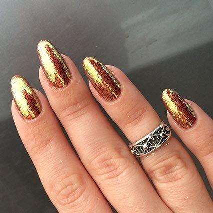 фото ногти блестящие