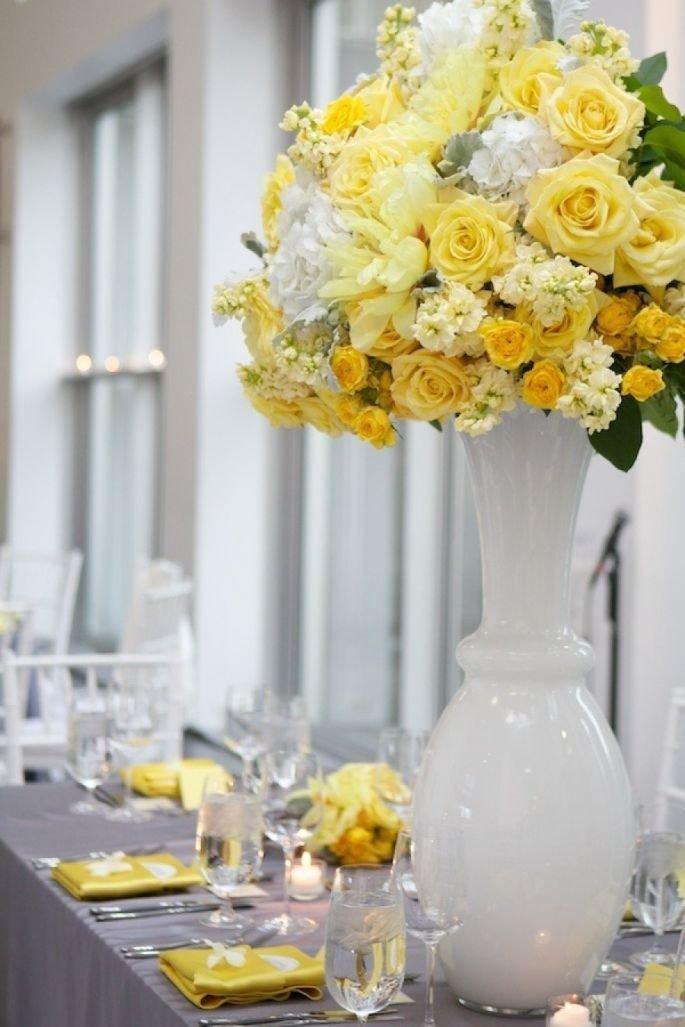 Букете, флористика желтый цвет букета