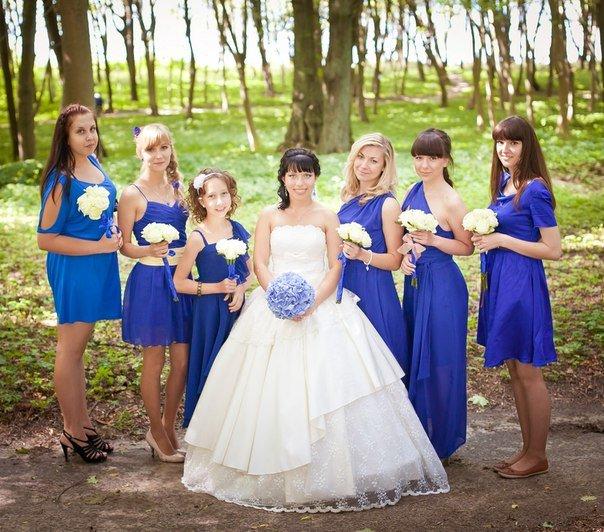 Бело-синяя свадьба идеи фото