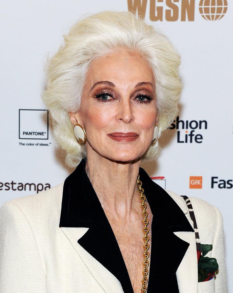 Яркий вечерний макияж для пожилой женщины.» — карточка ...