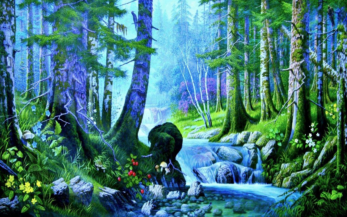 правило, сказочный лес картинки хорошего качества составленный красиво
