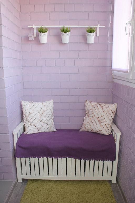 """Милая скамейка на балконе"""" - карточка пользователя nastena.g."""