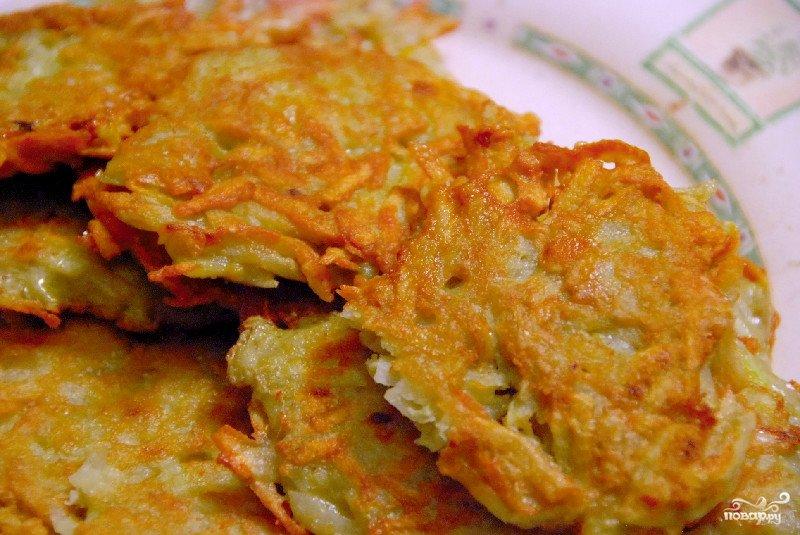 Рецепт дерунов из картошки с фото