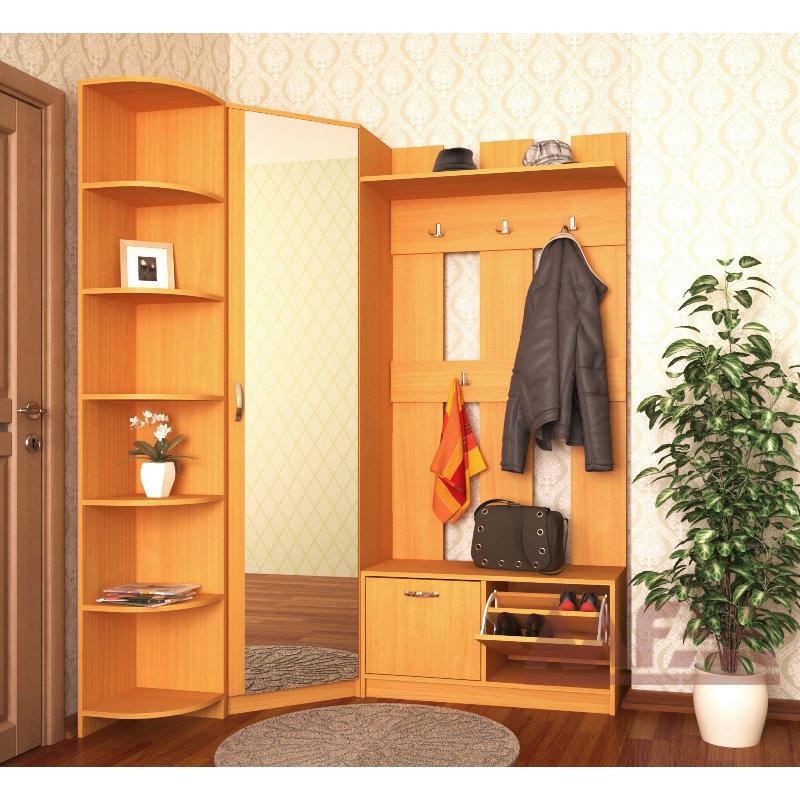 Ольга-10 прихожая угловая в маленький коридор - купить в мос.