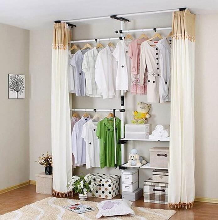 50 идей маленьких гардеробных комнат: максимум удобства.