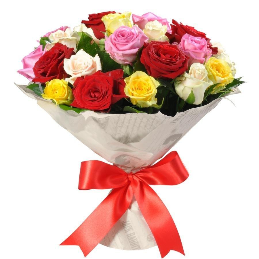 Розы разного цвета букеты фото, кустарниковые