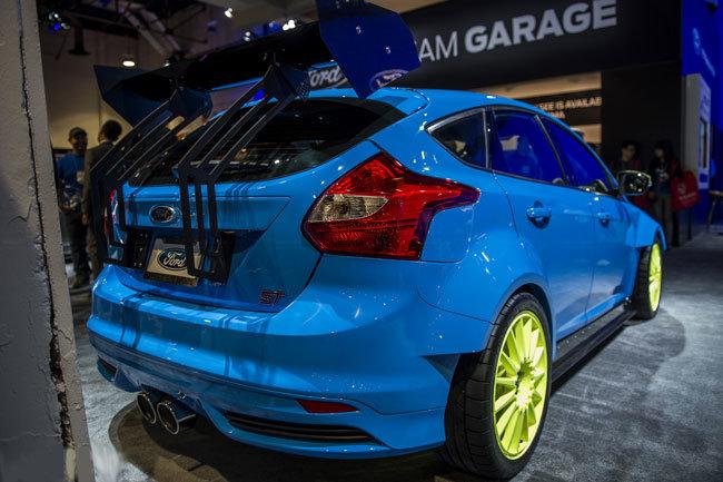 Раллийный Ford Focus ST