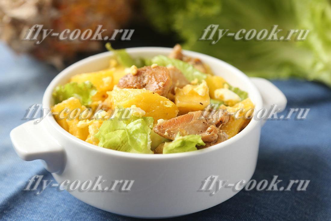 страницу блюда с ананасом свежим рецепты номер опасного