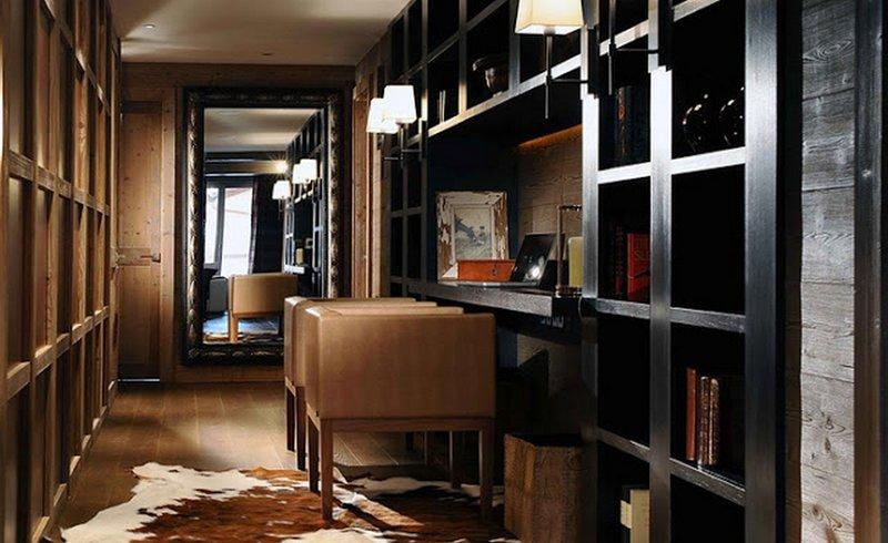 Создаем уютный домашний кабинет в темно коричневом тоне