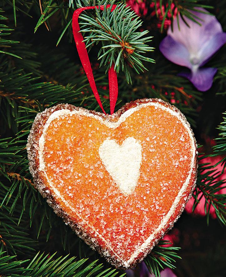 делать таких картинки сердечки на елке это два крекера