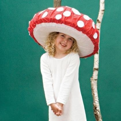 как сделать шапку мухоморчика ребенку милым ученицам Школы