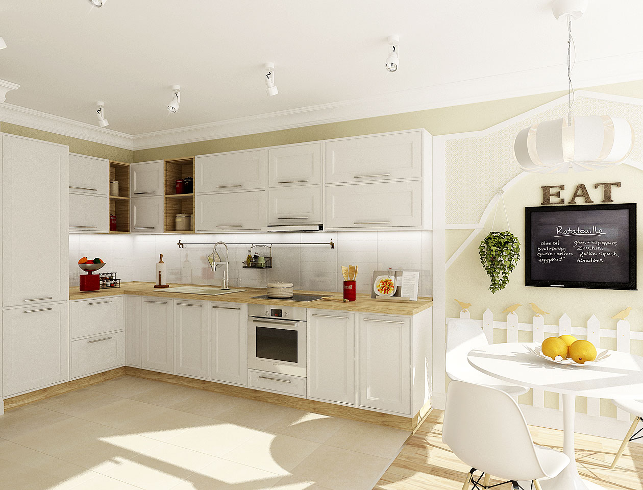 кухня в скандинавском стиле карточка пользователя Ilona Rz в