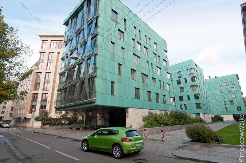 Жилой комплекс Copper House Бутиковский пер., 3, Москва