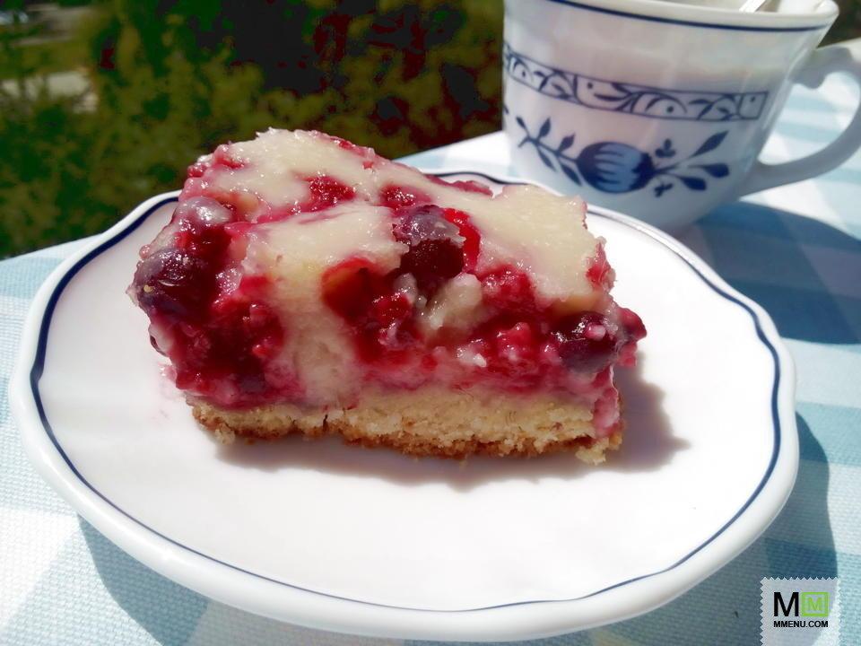 Малиновый пирог цветаевой рецепт