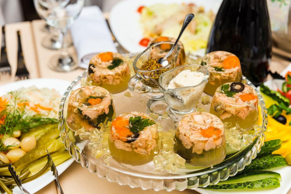 море, блюда к новогоднему столу фото новости железного
