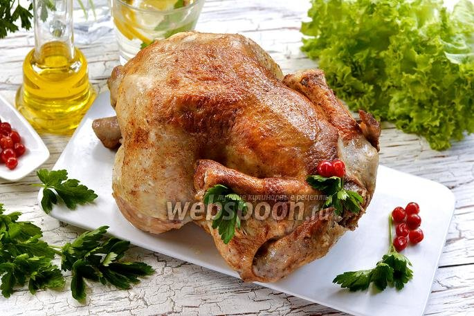 курица целая рецепты с фото