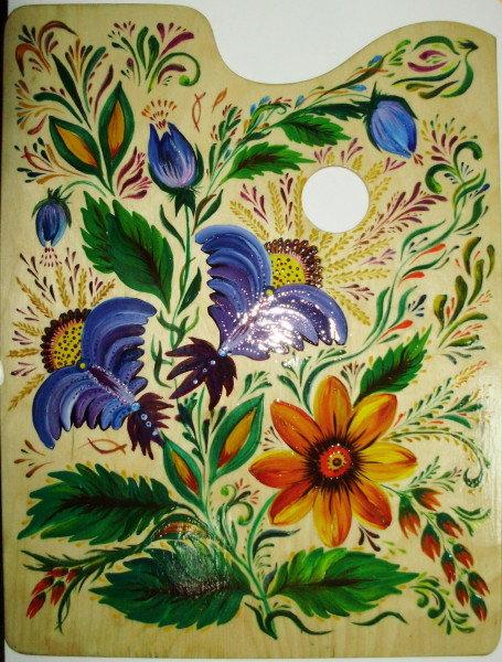 Картинки цветов для росписи по дереву