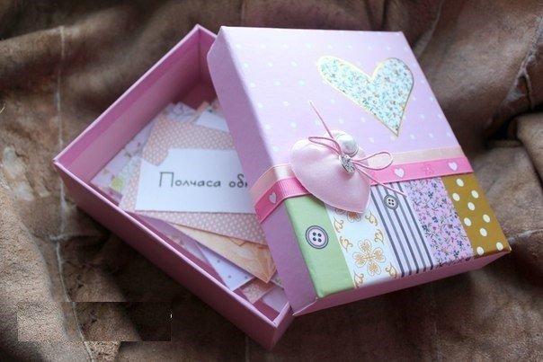 Коробочки для подарков своими руками 40