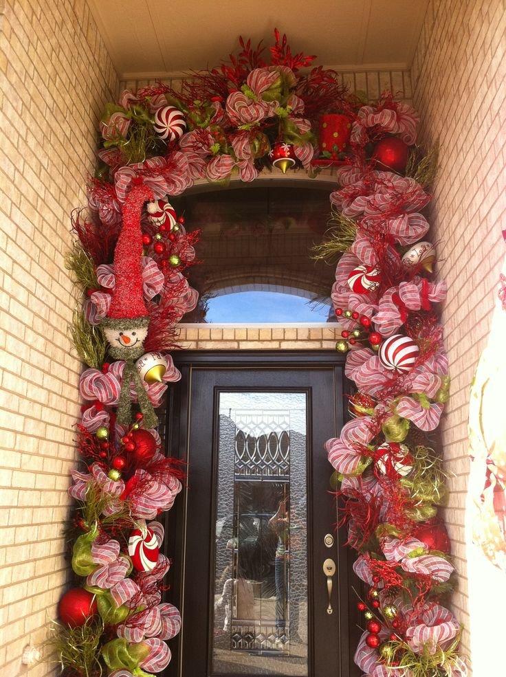 декор проема над пластиковой дверью идеи фото время