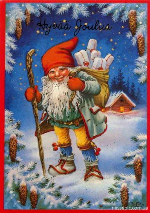 Финские открытки с новым годом, прикольными словами