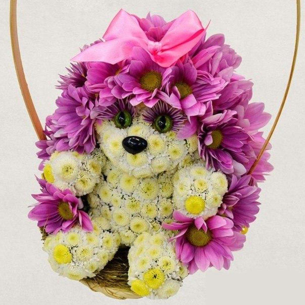 Игрушки из цветов купить в спб недорого, вылечил букета