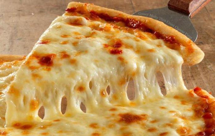 Пицца четыре сыра рецепт с фото